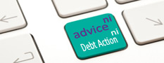 Debt Action NI website link