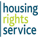 The logo of the Housing Rights Service